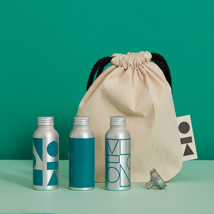 teal travel basics kitbag