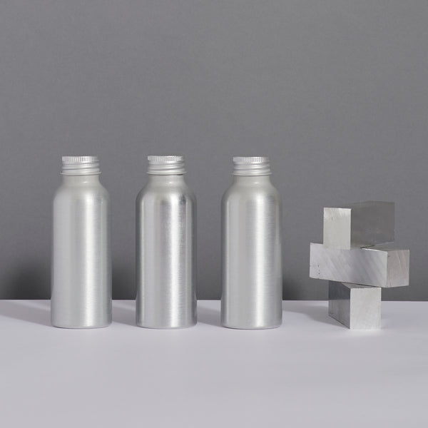 aluminium travel set