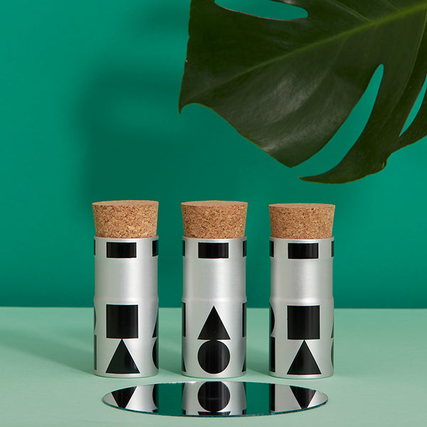 shapes corked pots