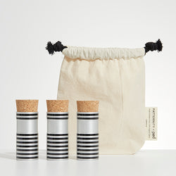 striped corked kitbag