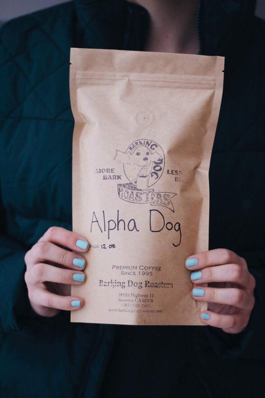 Alpha Dog Blend. Brings out the alpha in you. 12oz freshly roasted and delivered to your door.