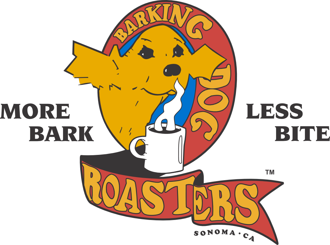 BDR Logo Sticker - Barking Dog Roasters