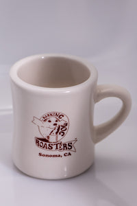 """Diner Style"" Coffee Mug - Barking Dog Roasters"