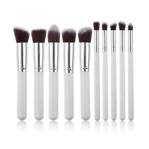 10 Piece Round Set - White - shoppingandfreebies