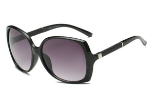 Women Retro Square Fashion Oversized Sunglasses with UV Protection - shoppingandfreebies