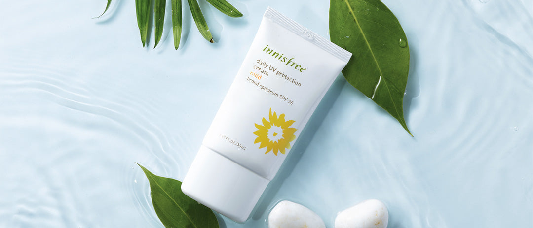 DAILY UV PROTECTION CREAM MILD FROM INNISFREEE