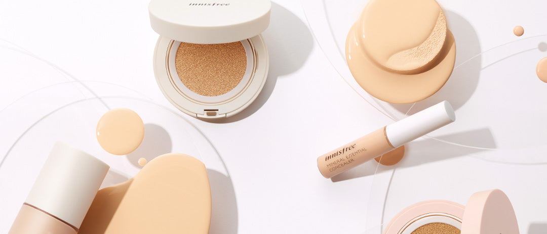matte full cover cushion refill for foundation from innisfree