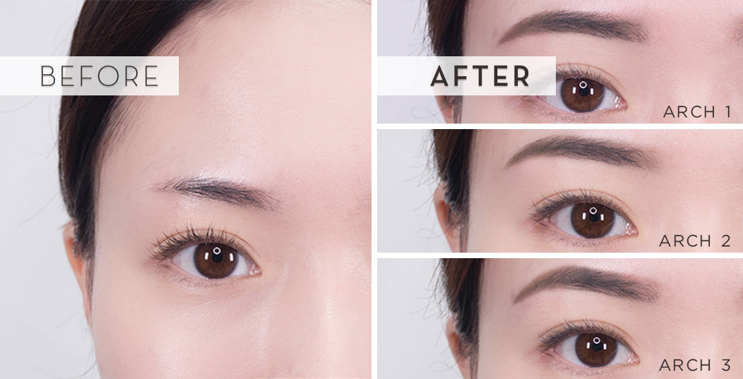 brow stamp from innisfree steps to apply