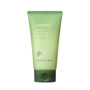 Hydrating body gel scrub with green tea