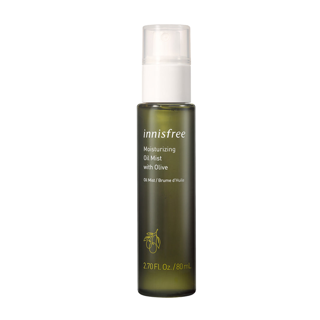 Moisturizing oil mist
