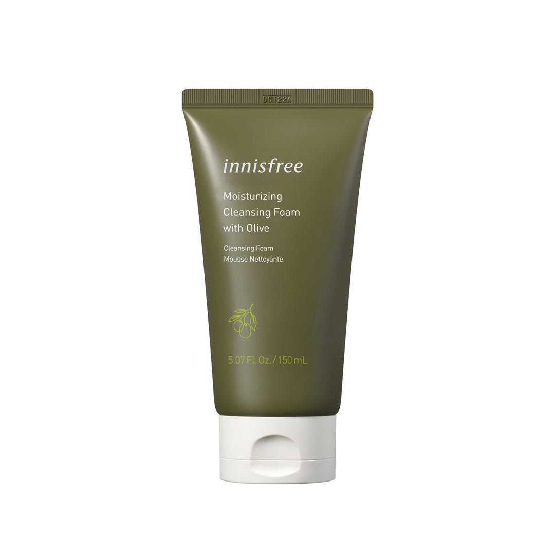 Moisturizing cleansing foam