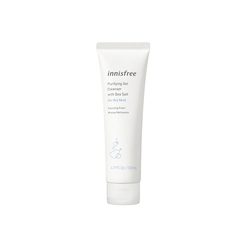 Purifying gel cleanser [for dry skin]