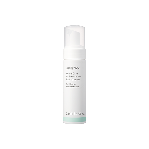 Gentle care for sensitive skin facial cleanser