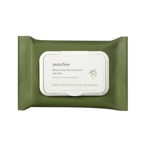 Moisturizing cleansing wipes