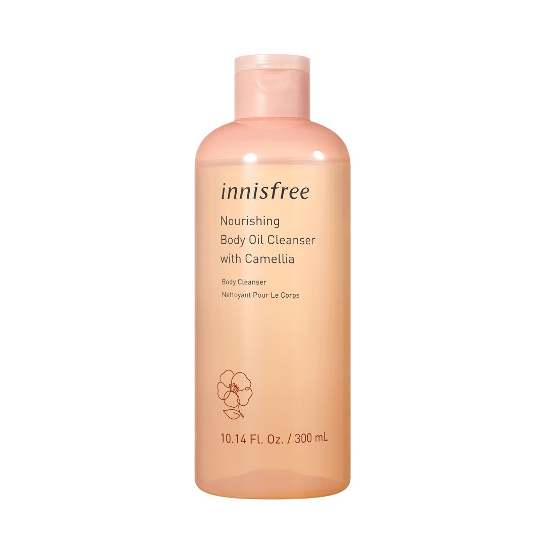 Nourishing body oil cleanser
