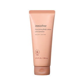 Nourishing body lotion with camellia