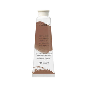 Jeju life perfumed hand cream - Autumn rain