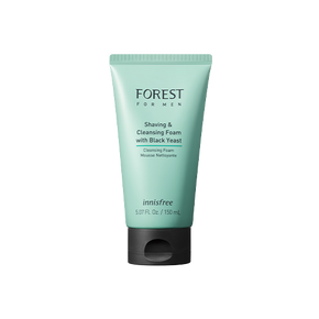 Forest for men shaving and cleansing foam
