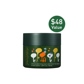 Jumbo Intensive hydrating cream with green tea seed ($48 value)