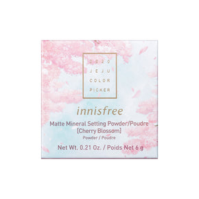 Matte Mineral Setting Powder [Cherry Blossom]