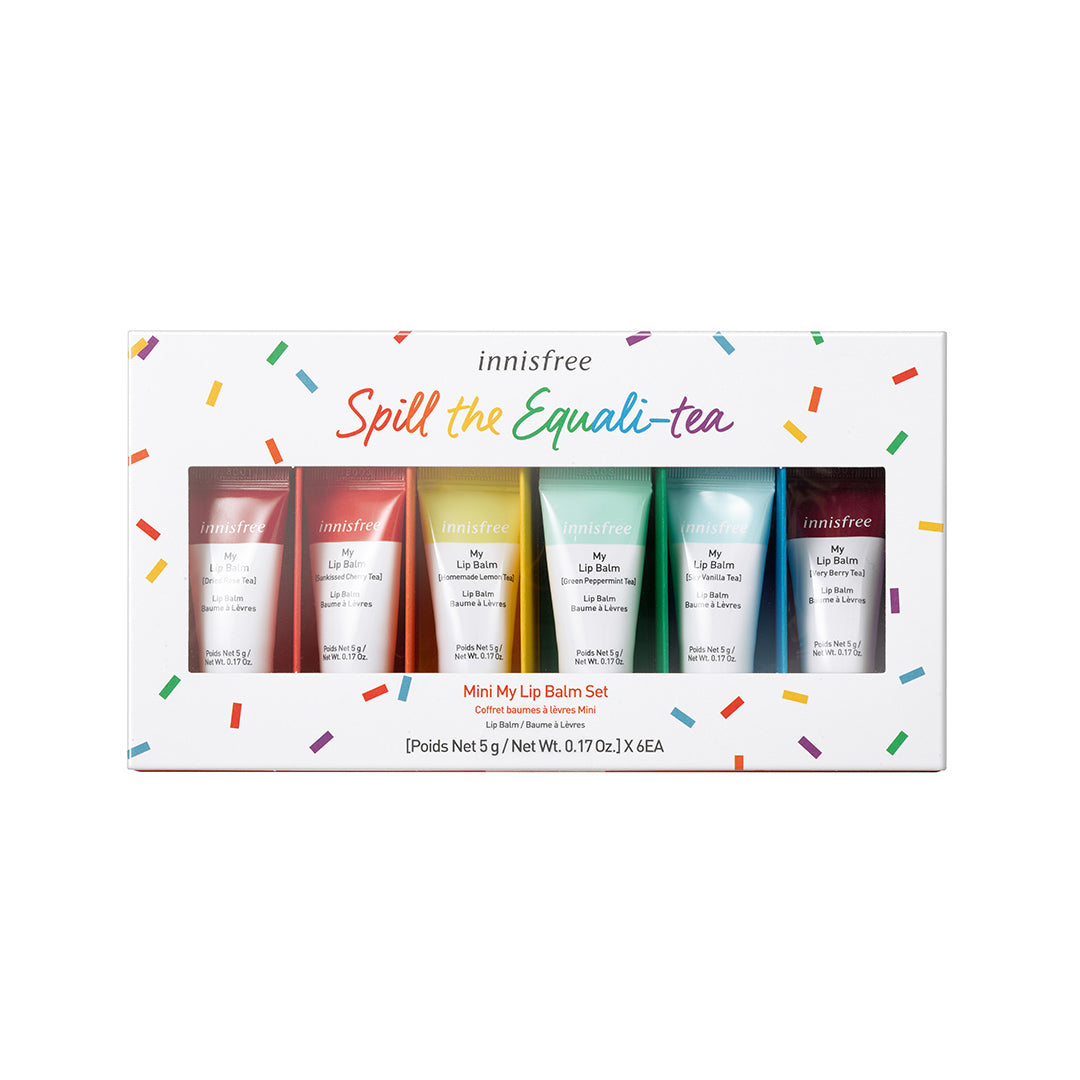 Spill The Equali-Tea Mini My Lip Balm Set