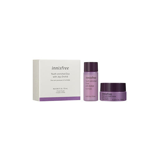 FREE Youth-enriched duo kit with Jeju Orchid