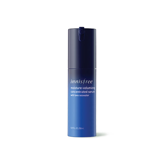 Moisture-volumizing concentrated serum