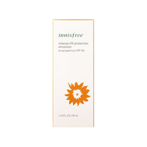 Intense UV protection emulsion broad spectrum SPF 50+