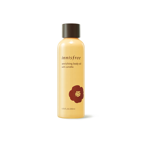 Enriching body oil