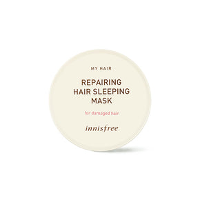 My hair repairing hair sleeping mask [for damaged hair]
