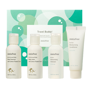 Travel buddy! Body & hair care set