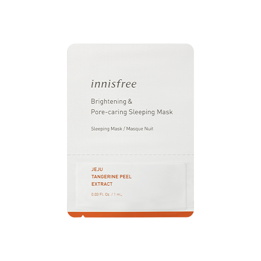 Brightening & pore-caring sleeping mask sample