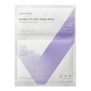 Double fit anti-aging mask