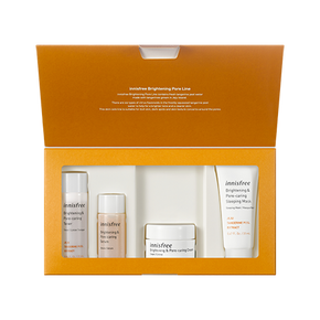 Glow on! Brightening with tangerine skincare collection