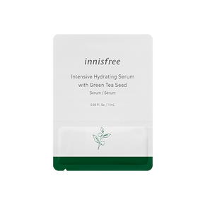 Intensive hydrating serum with green tea seed sample