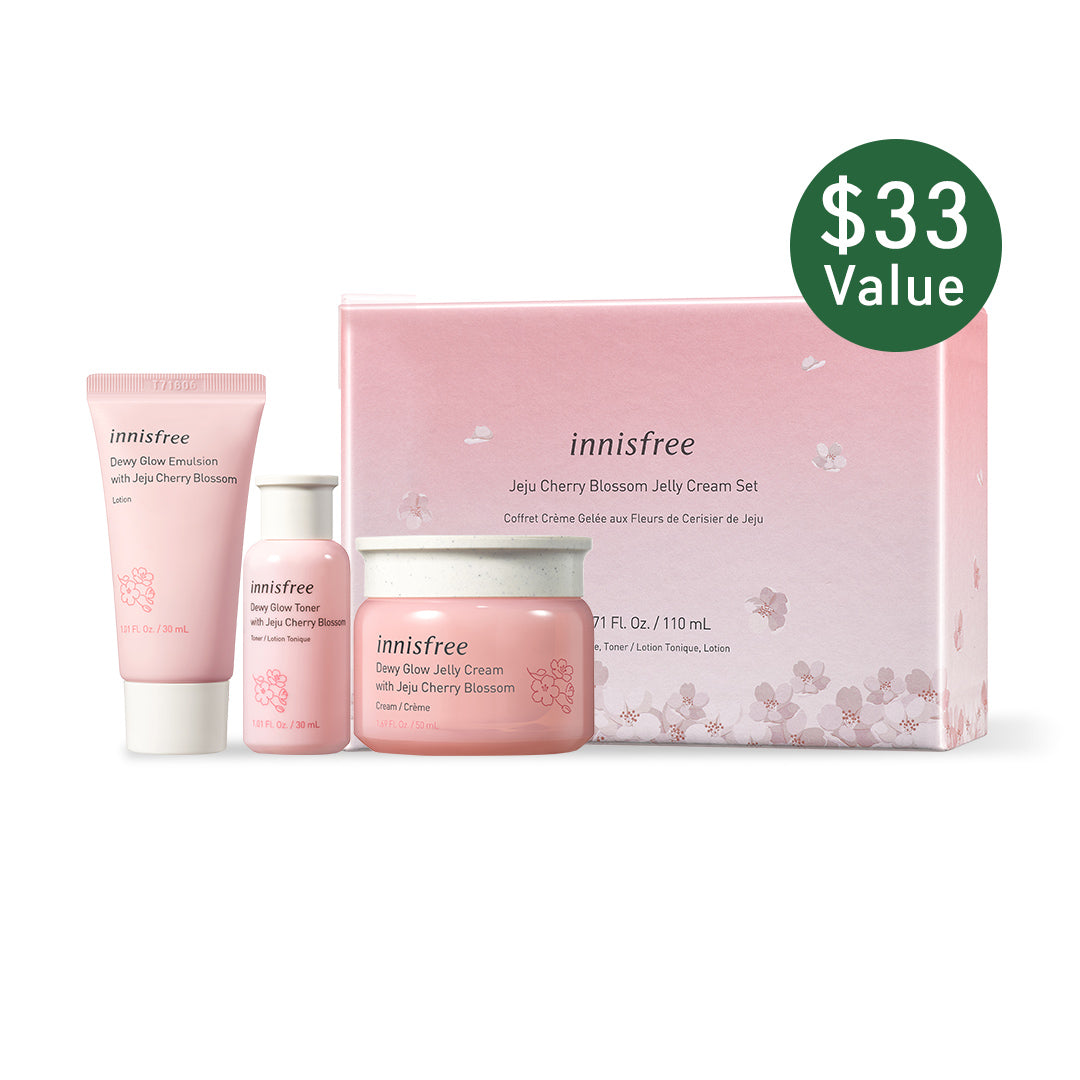 Jeju Cherry Blossom Jelly Cream Set