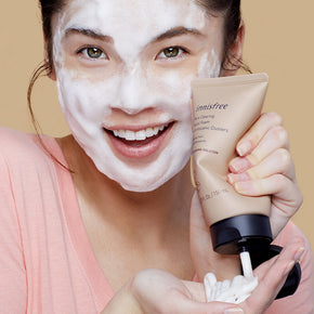 Pore clearing facial foam