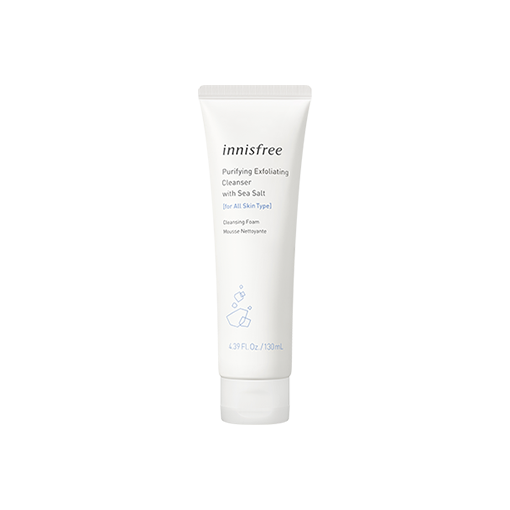 Purifying exfoliating face cleanser