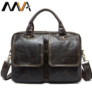 MVA - Men's Office/Laptop Leather Bag