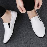 2019 New Casual Genuine Leather Men's Loafers - aleathershop