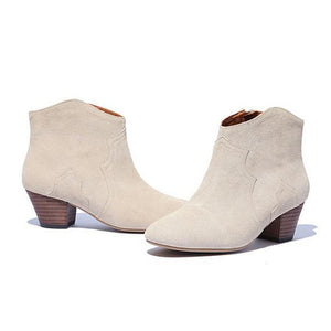 LILYPTUART - New Leather Martin Women's Boots - aleathershop
