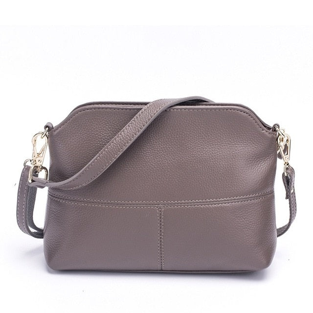 MJ - Women Bags Fashion Genuine Leather Messenger Bag - aleathershop
