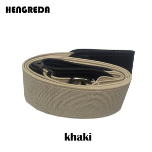 Buckle-Free Elastic Belt for Jeans, Dresses - aleathershop