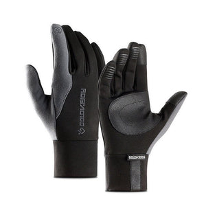 Unisex Touch Screen Leather Gloves Thinsulate Lined - aleathershop