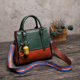 LUYO - 2019 | Vintage Real Genuine Leather Handbag - aleathershop