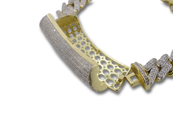 Custom Iced Out Micro Pave Mayami Cuban Link