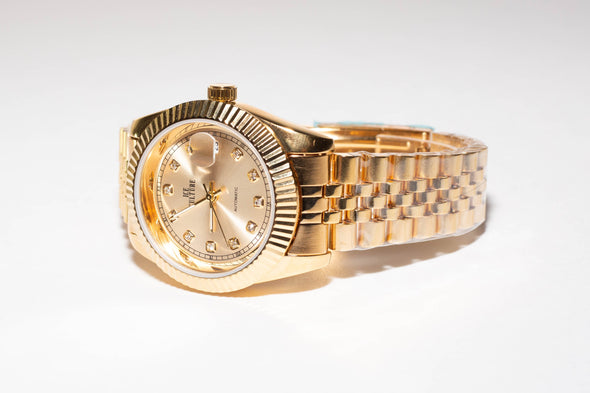 ICE CULTURE 14K Automatic Luxury Watch