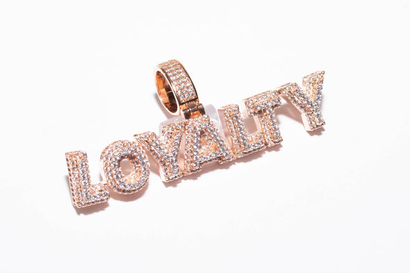 ROSE GOLD LOYALTY Charm