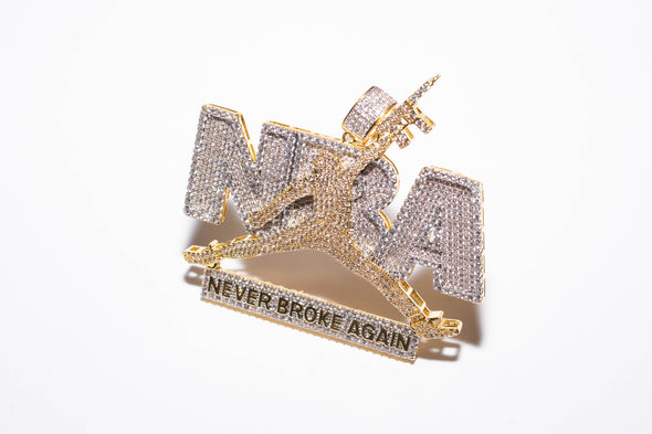 Never Broke Again(NBA) Charm
