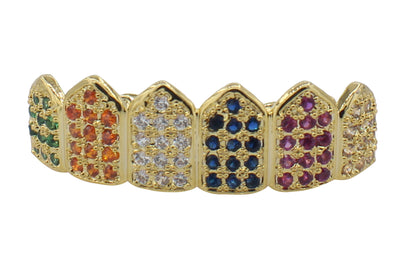 MULTICOLOR Lab Diamond Grillz
